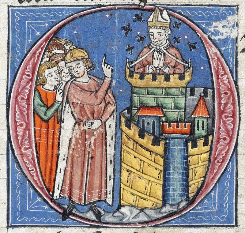 Илл Патриарх Антиохийский атакован пчелами