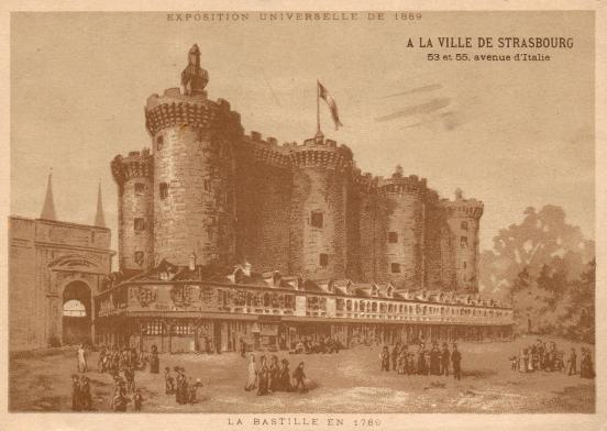 The Bastille at the 1889 Exposition