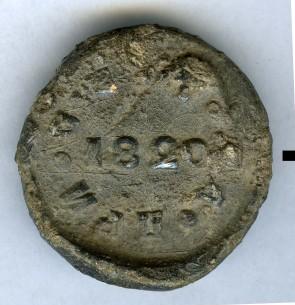 1820 пломба