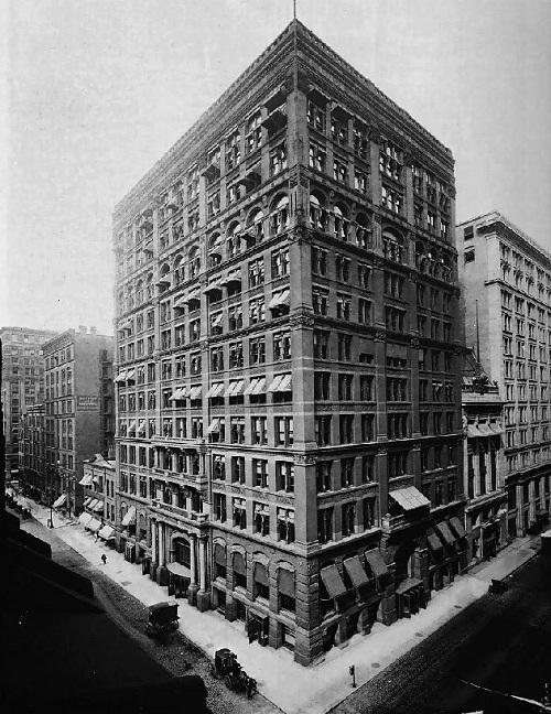 1910 Небоскреб world_first_skyscraper_2
