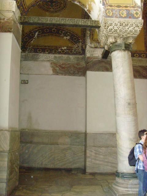 Айя София колонна