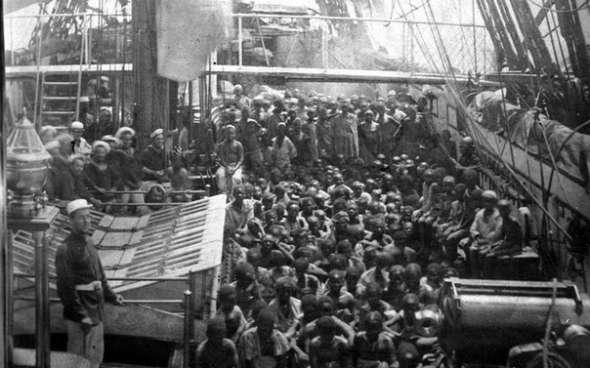 1868 год на пути в США