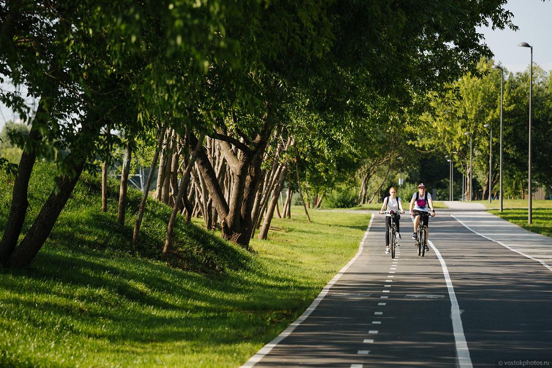 досить велосипедная дорожка фото при