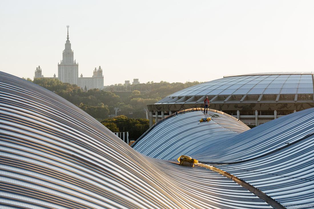 ЦХГ Лужники и новый вид на Москву!