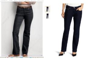 Брюки вельветовые+джинсы
