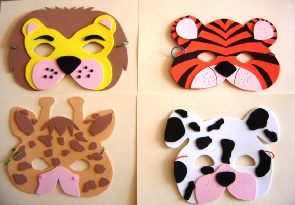 Как сделать маски своими руками для детей