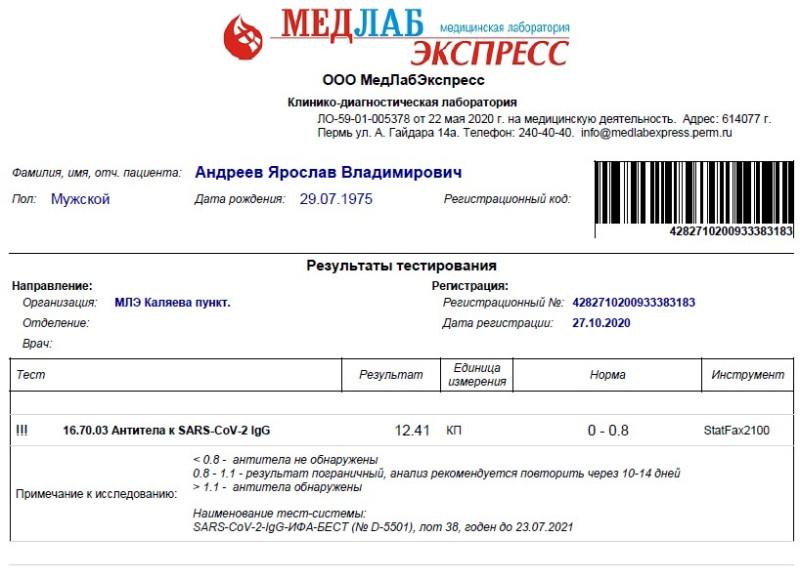 антитела-Андреев