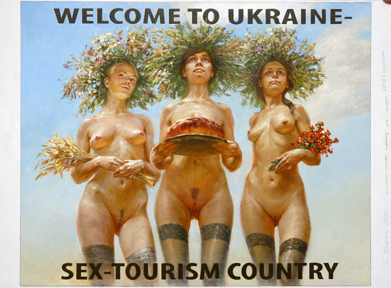 Welcome to Ukraine- Sex-tourist Country