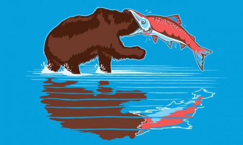 Злой лосось