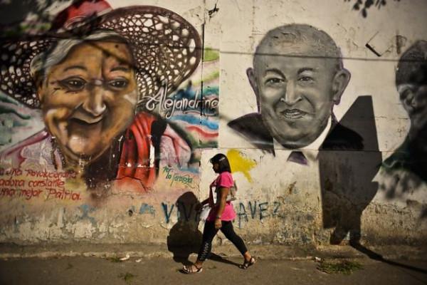 Уго Чавес после проведения химиотерапии