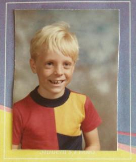 1981: Me, first grade (Westwood Elementary, Rancho Bernardo, CA). Age 7.