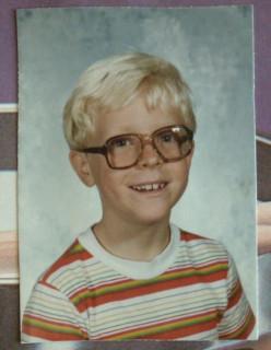 1982: Me, second grade (El Descanso Elementary, Camarillo, CA), age 8.