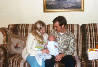 November 1973 - Me and Dad and Mom