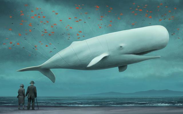 Fail Whale by Japanese artist Kuni (aka ka-92)