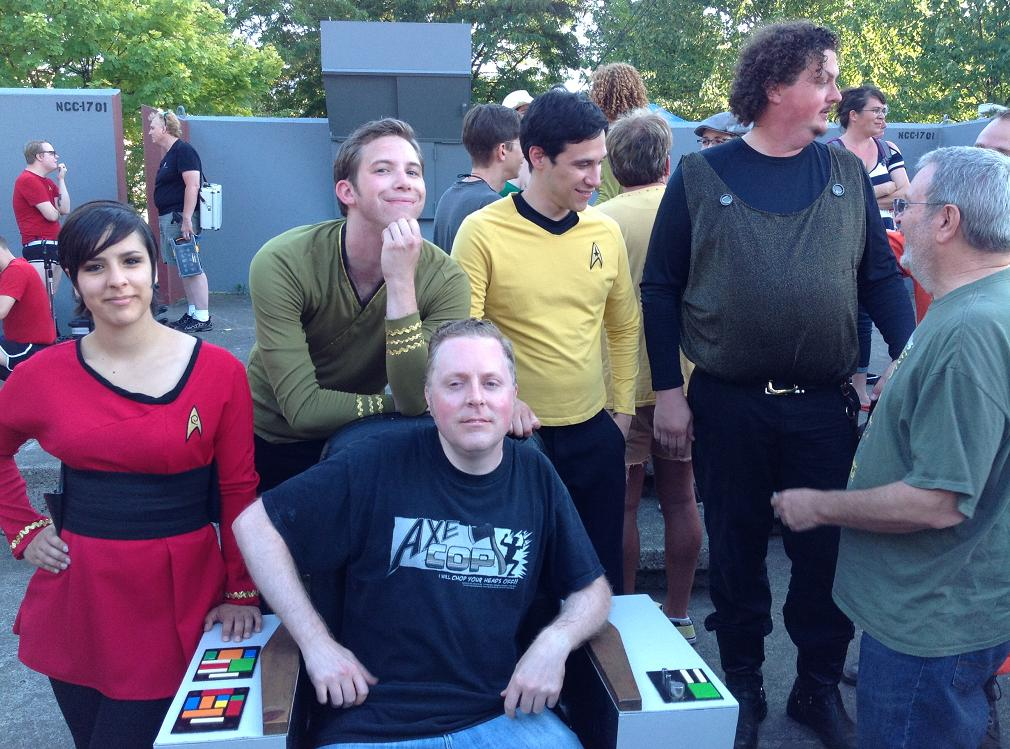 Everyone wants to be Captain Kirk.