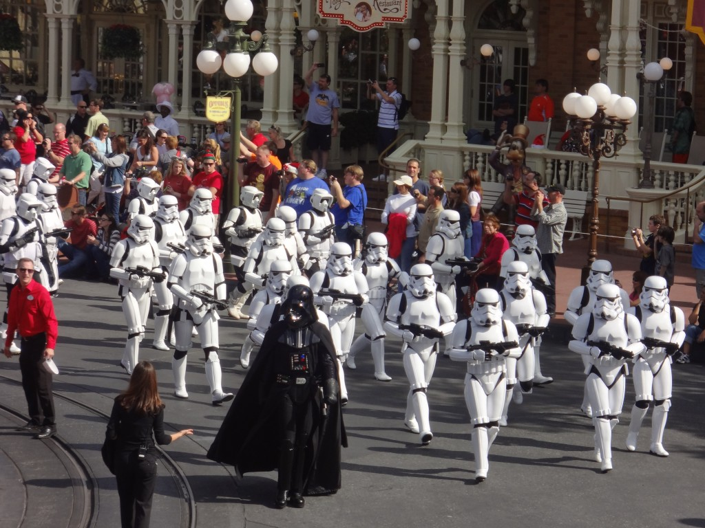 501st at Walt Disney World Christmas Parade