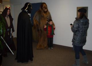 Kids love STAR WARS!