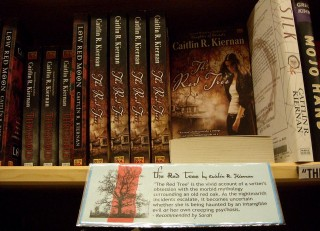 Recommended (by Powell's and by me AND by lots of others): 'The Red Tree' (2009) by Caitlin R. Kiernan