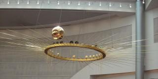 The Oregon Convention Center's Foucault pendulum