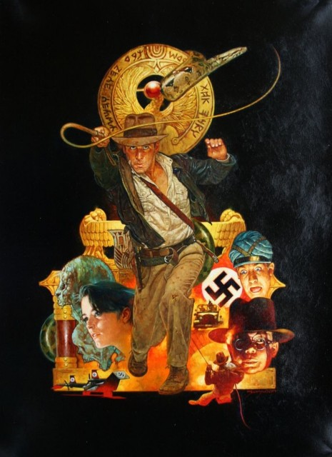Raiders of the Lost Ark - art by