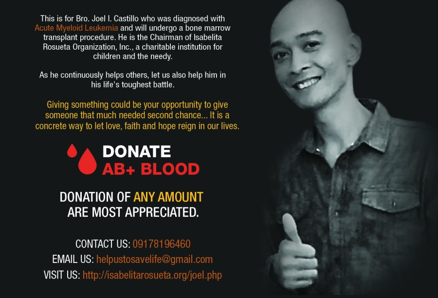 Helping Save Life Of Joel Castillo