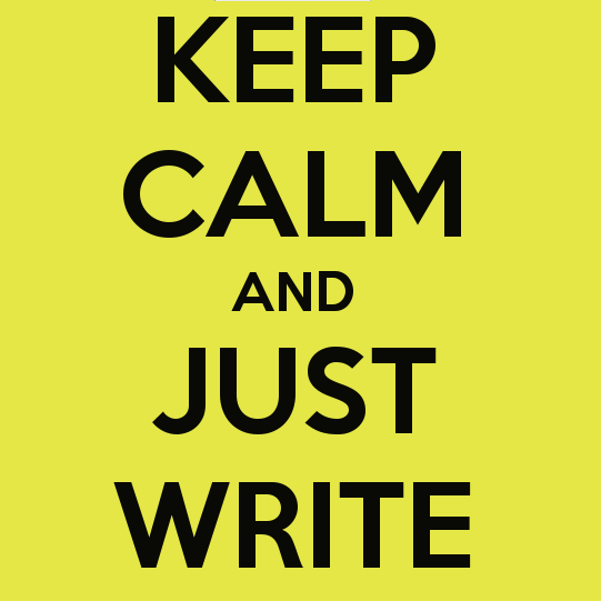 keep-calm-and-just-write