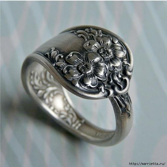 Как сделать кольца из серебра
