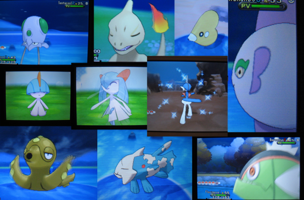A Lot Of Gets Shiny Pok 233 Mon On Xy Pkmncollectors