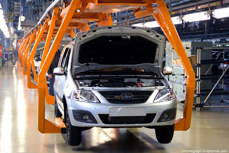 «АвтоВАЗ» снизил производство автомобилей на 14%.