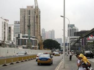 Когда-то Фучжоу воспринимался мною как город небоскрёбов. Теперь это ещё один китайский мегаполис, в котором строят метро.