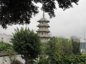 Чёрная пагода на Чёрной горе
