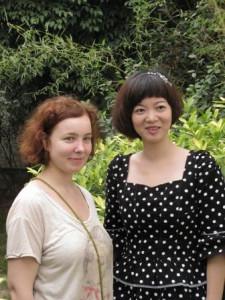 Красота славянская и красота китайская