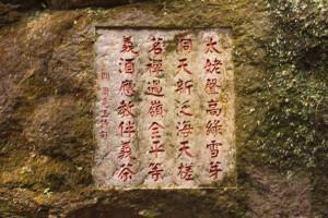 Строки поэта 17-го века Чжоу Лян Гуна, посвящённые Зелёно-снежным почкам