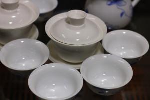 Белый фарфор для белого чая