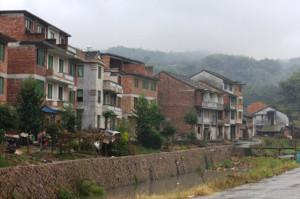 Современная часть деревни Цуйцзяо