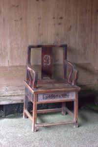 Наверное, на этом стуле сиживал сам У Цхо