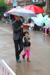 Модники посёлка Байлинь