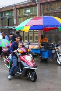Мотоциклы и мотики - наипопулярнейшие средства передвижения в провинции Фуцзянь