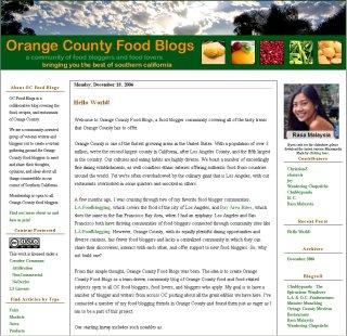 OC Food Blogs Launched! - [Crazies] ~ Chubbypanda com