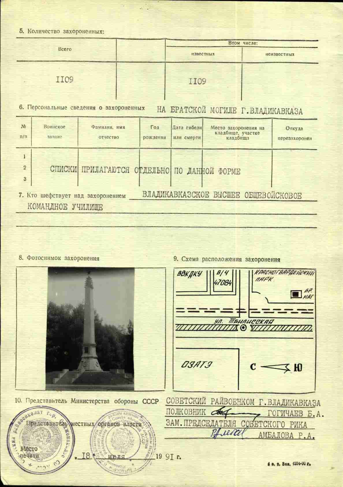 паспорт ОАЗАТЭ