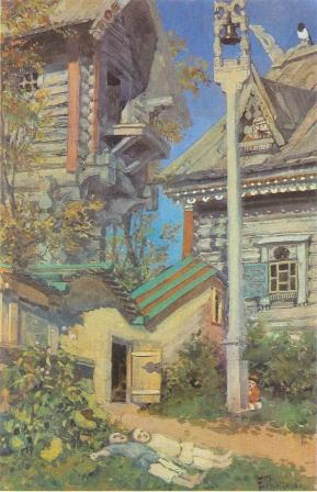Иллюстрация к сказке «Белая уточка»1894
