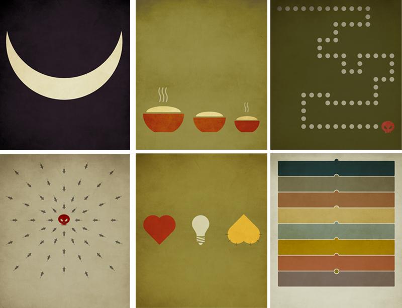 Постеры к сказкам