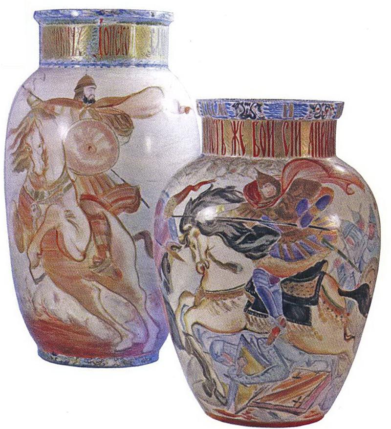 вазы Дмитрий Донской и Александр Невский