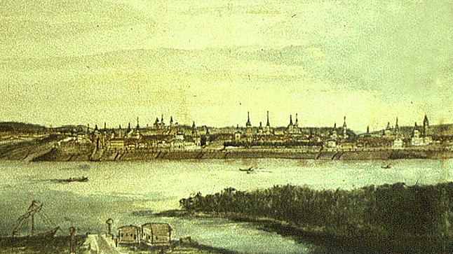 Вид Иркутска XVIII