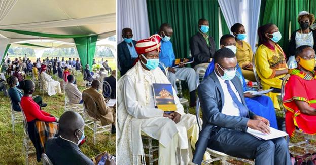 Около ста участников присутствовали на церемонии посвящения, и тысячи людей из окружающих регионов и по всей Кении отметили важный шаг в духовном путешествии своего народа.