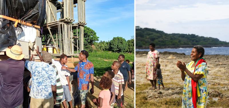 Очные встречи проводятся в соответствии с мерами безопасности, установленными правительством. Жители Танна с нетерпением ждали этого момента с тех самых пор, как в 2012 году было объявлено о планах построить здесь местный Дом Поклонения бахаи.