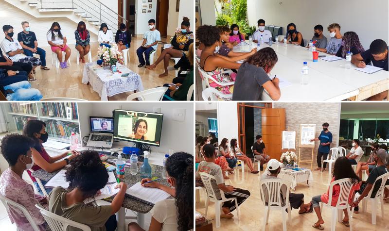 Различные группы молодёжи из Вила-ду-Боа участвуют в образовательных программах бахаи, развивающих способность анализировать социальную реальность, выявлять потребности своего социума и делать что-то полезное для общества.
