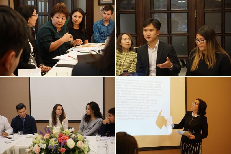 Участники различных собраний журналистов и других социальных деятелей, организованных Управлением иностранных дел.