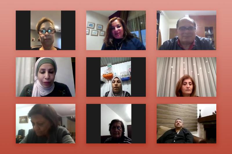 Одна из множества дискуссий среди журналистов, общественных деятелей и представителями Офиса общественной информации бахаи Иордании о том, как средства массовой информации могут способствовать единству человечества.