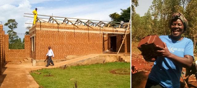 Добровольцы из деревни Намаванга, Кения, и её окрестностей объединились, чтобы приступить к строительству школы площадью 800 квадратных метров для своей деревни.